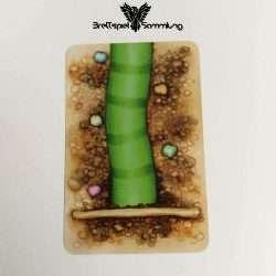 Streifen Toni Karte Wurmteil Grün #2