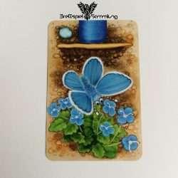 Streifen Toni Karte Wurmteil Blau #2