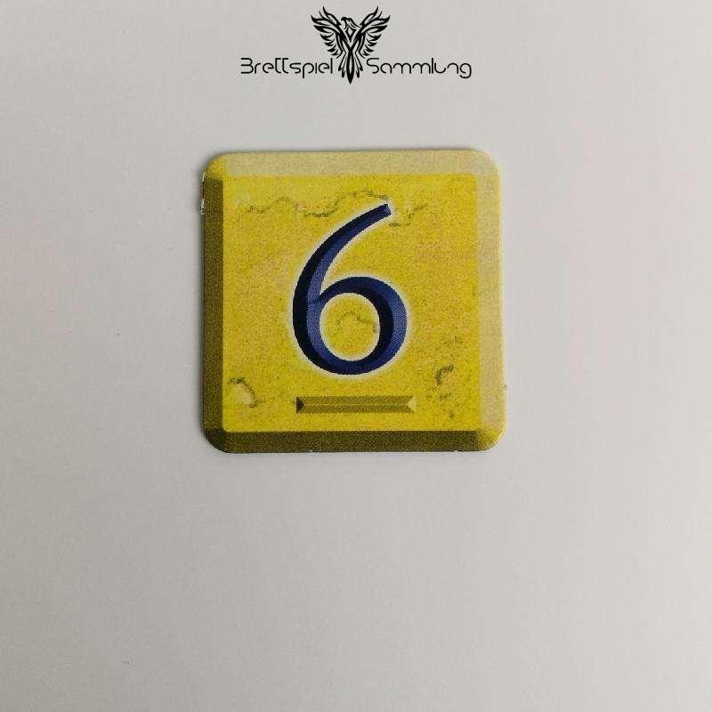 Zahlenzauber Schatzkärtchen 6 Zauberstern