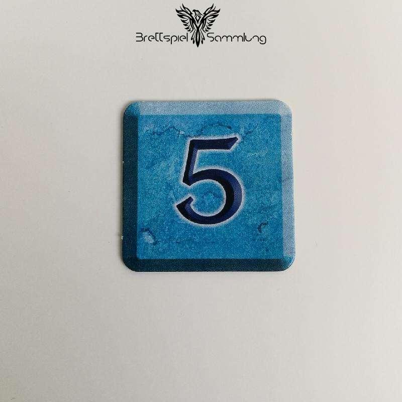 Zahlenzauber Schatzkärtchen 5 Zauberstern