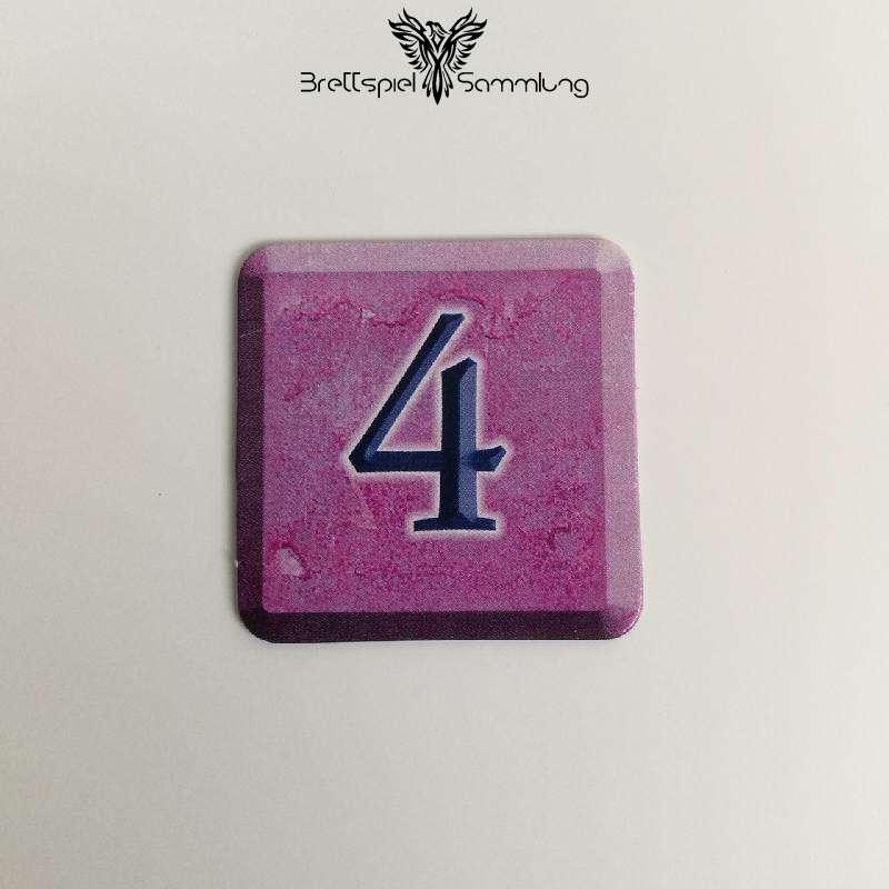 Zahlenzauber Schatzkärtchen 4 Zauberstern