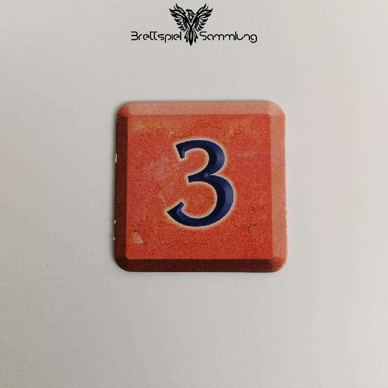 Zahlenzauber Schatzkärtchen 3 Zauberstern