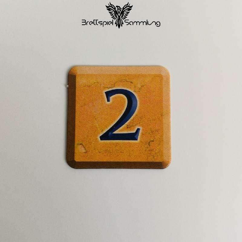 Zahlenzauber Schatzkärtchen 2 Zauberstern