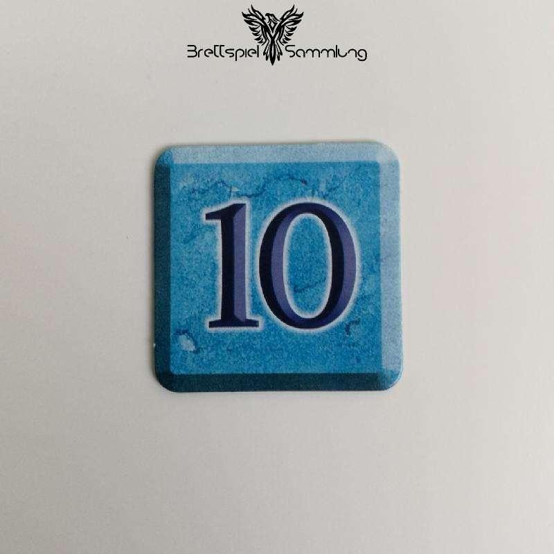 Zahlenzauber Schatzkärtchen 10 Zauberstern