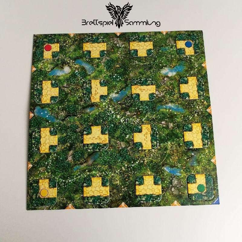 Das Elektronik Labyrinth Spielplan