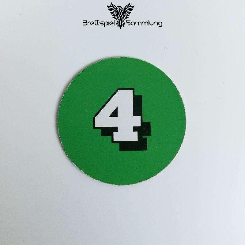 Die Maulwurf Company Zugscheibe Grün 4