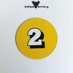 Die Maulwurf Company Zugscheibe Gelb 2