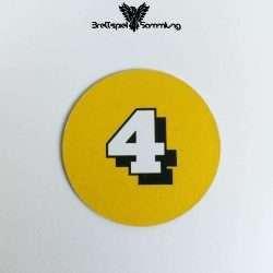 Die Maulwurf Company Zugscheibe Gelb 4