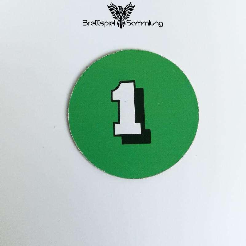 Die Maulwurf Company Zugscheibe Grün 1