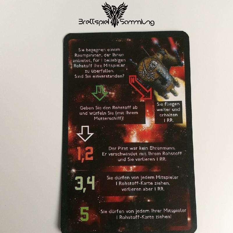 Die Sternenfahrer Von Catan Begegnungskarte #14
