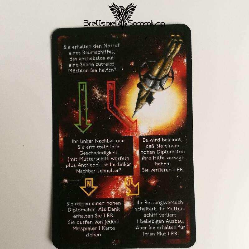 Die Sternenfahrer Von Catan Begegnungskarte #17