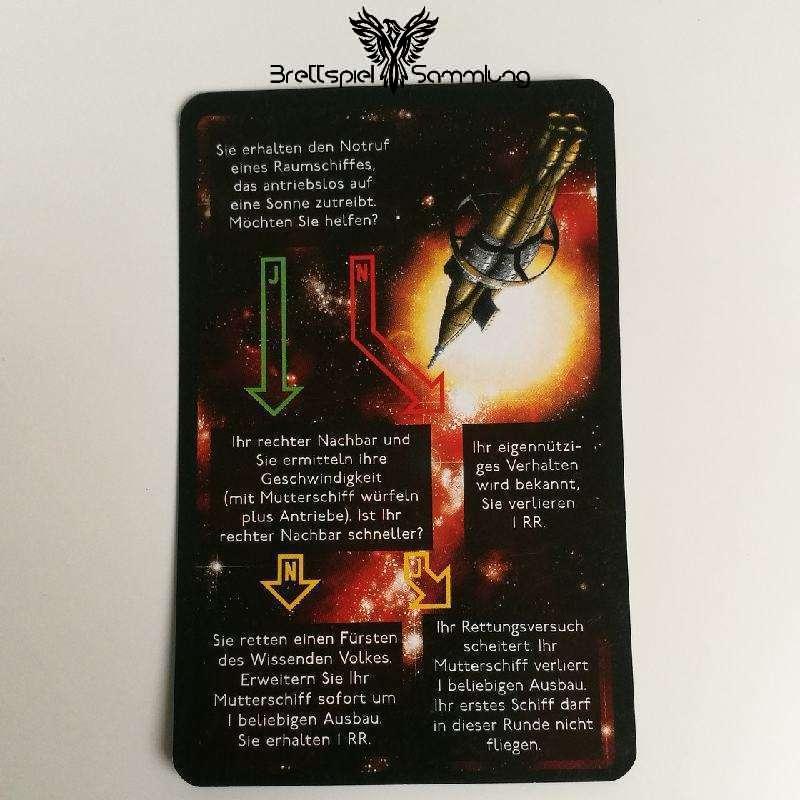 Die Sternenfahrer Von Catan Begegnungskarte #18