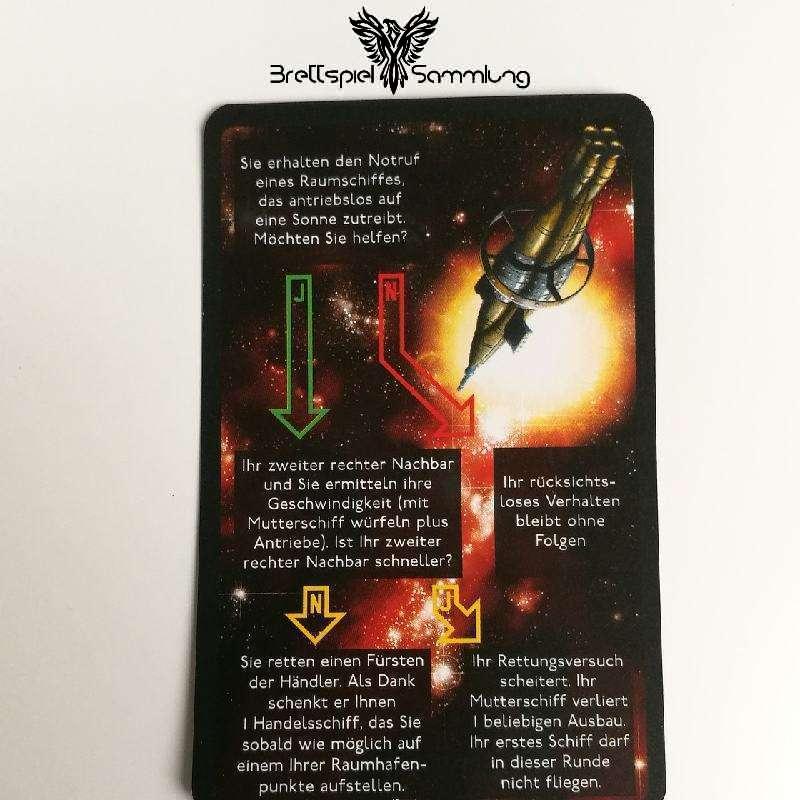 Die Sternenfahrer Von Catan Begegnungskarte #19
