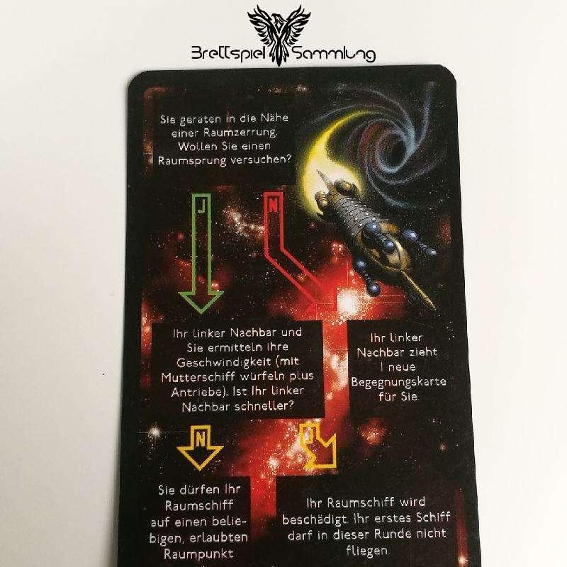 Die Sternenfahrer Von Catan Begegnungskarte #22