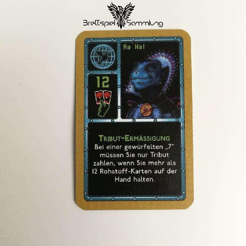 Die Sternenfahrer Von Catan Freundschaftskarte Ra Hal