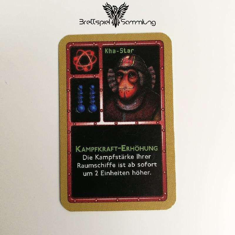 Die Sternenfahrer Von Catan Freundschaftskarte Kha Star