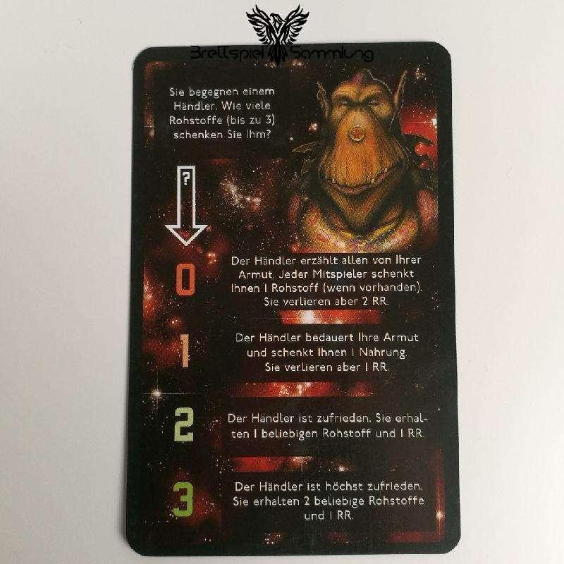 Die Sternenfahrer Von Catan Begegnungskarte #4