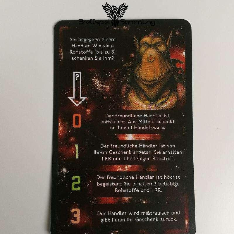 Die Sternenfahrer Von Catan Begegnungskarte #5