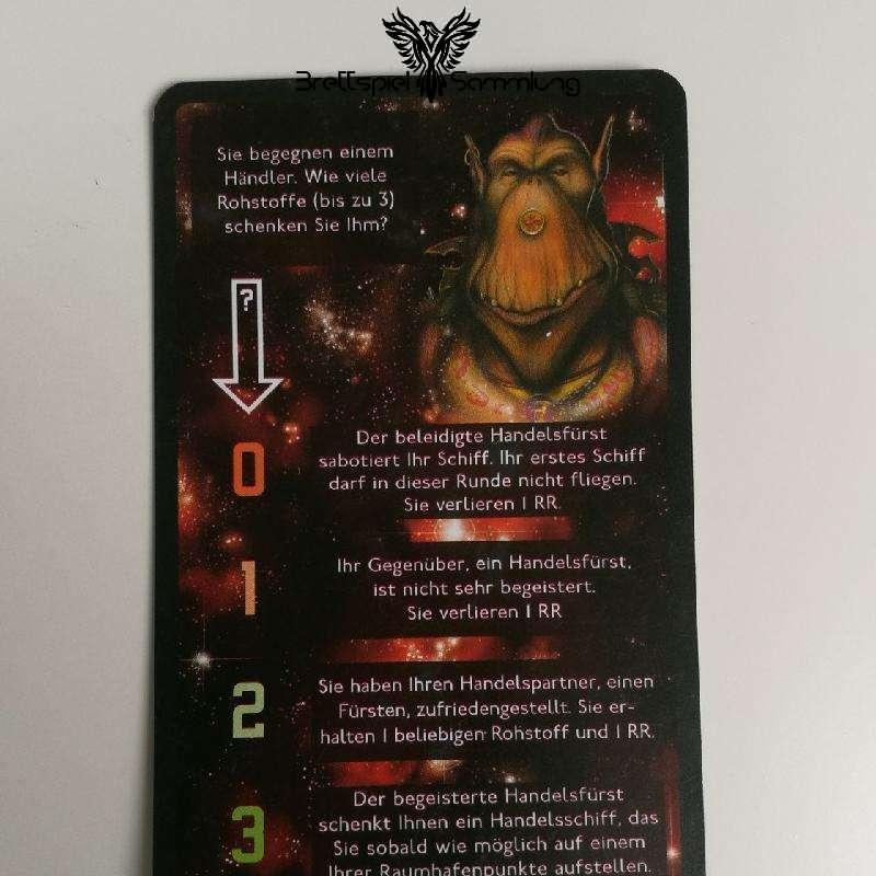 Die Sternenfahrer Von Catan Begegnungskarte #6
