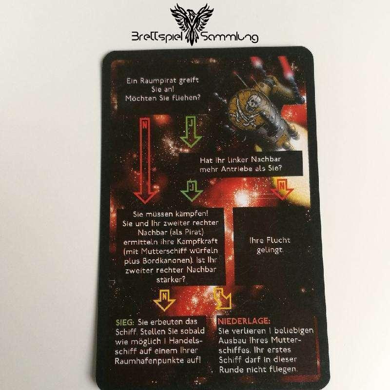 Die Sternenfahrer Von Catan Begegnungskarte #7
