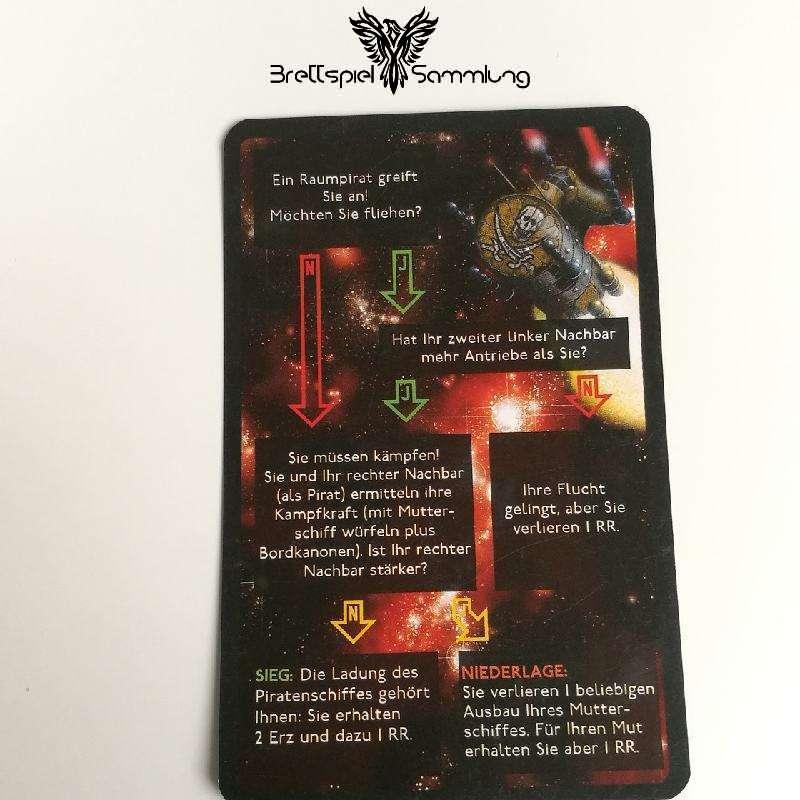 Die Sternenfahrer Von Catan Begegnungskarte #8