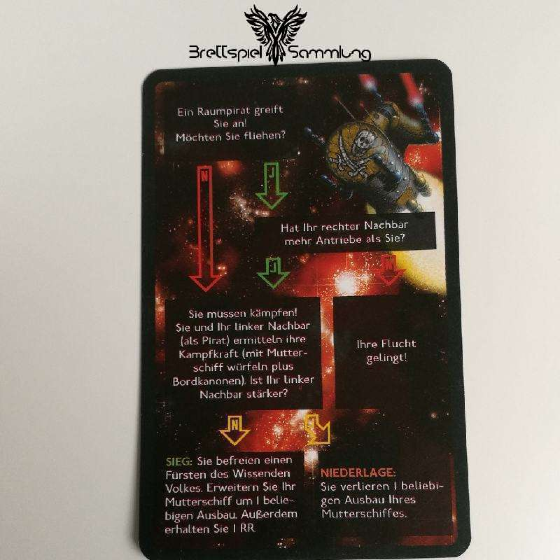 Die Sternenfahrer Von Catan Begegnungskarte #11