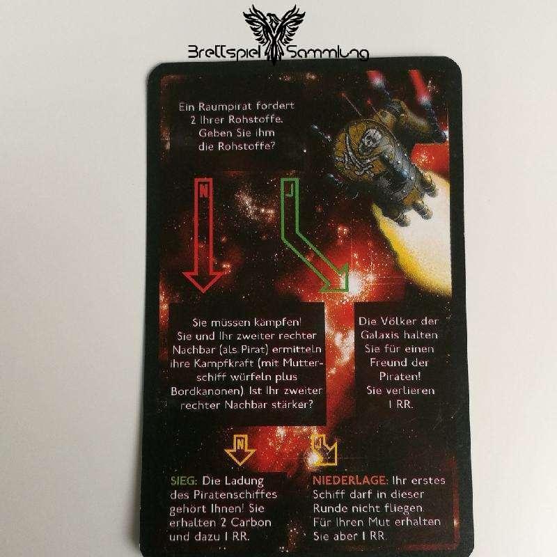 Die Sternenfahrer Von Catan Begegnungskarte #12