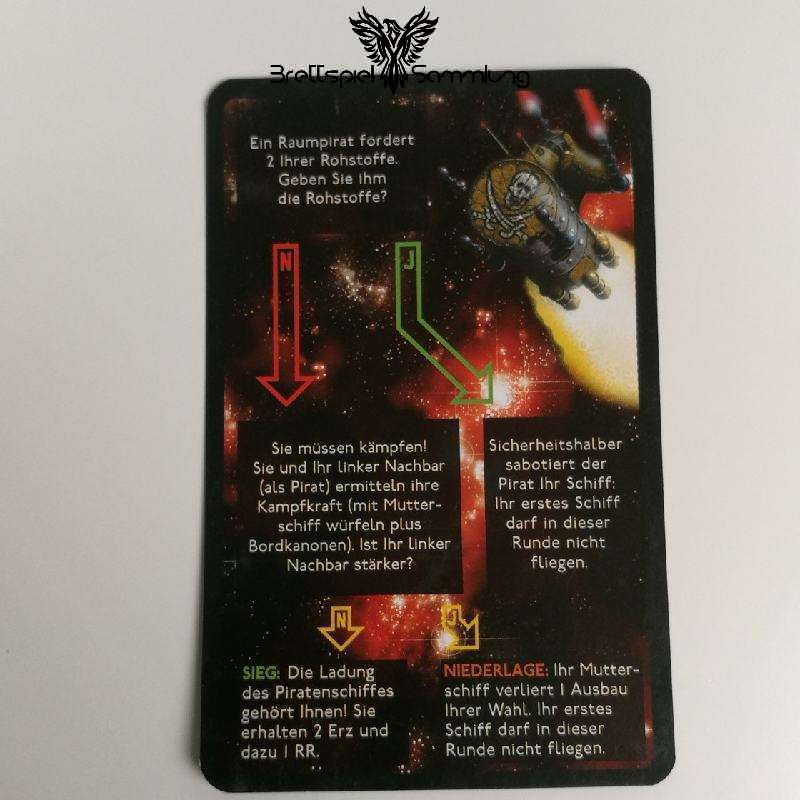 Die Sternenfahrer Von Catan Begegnungskarte #13