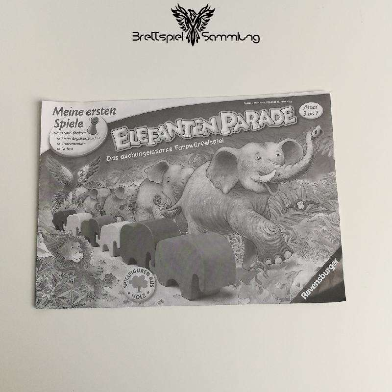 Elefanten Parade Spielanleitung