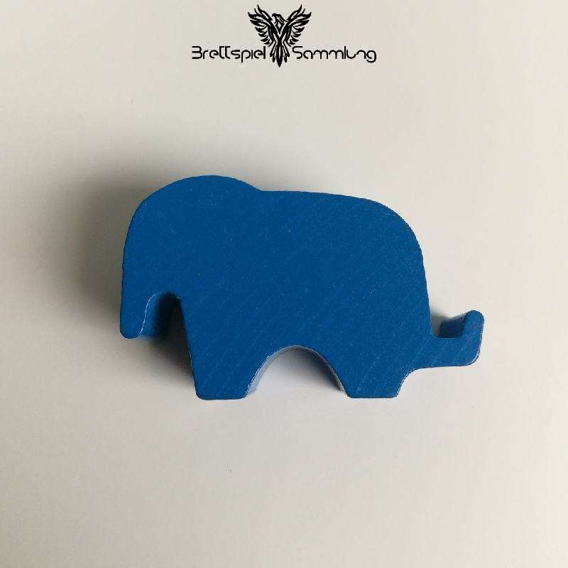 Elefanten Parade Elefant Groß Blau