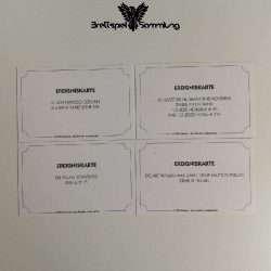 Monopoly Weltreise Ereigniskarte Paket #2