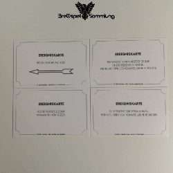 Monopoly Weltreise Ereigniskarte Paket #3