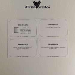 Monopoly Weltreise Ereigniskarte Paket #4
