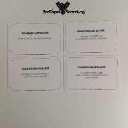 Monopoly Weltreise Gemeinschaftskarte Paket #1