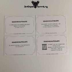 Monopoly Weltreise Gemeinschaftskarte Paket #3