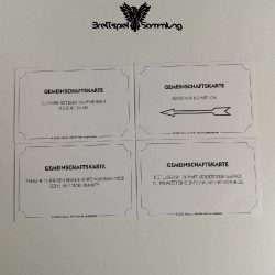 Monopoly Weltreise Gemeinschaftskarte Paket #4