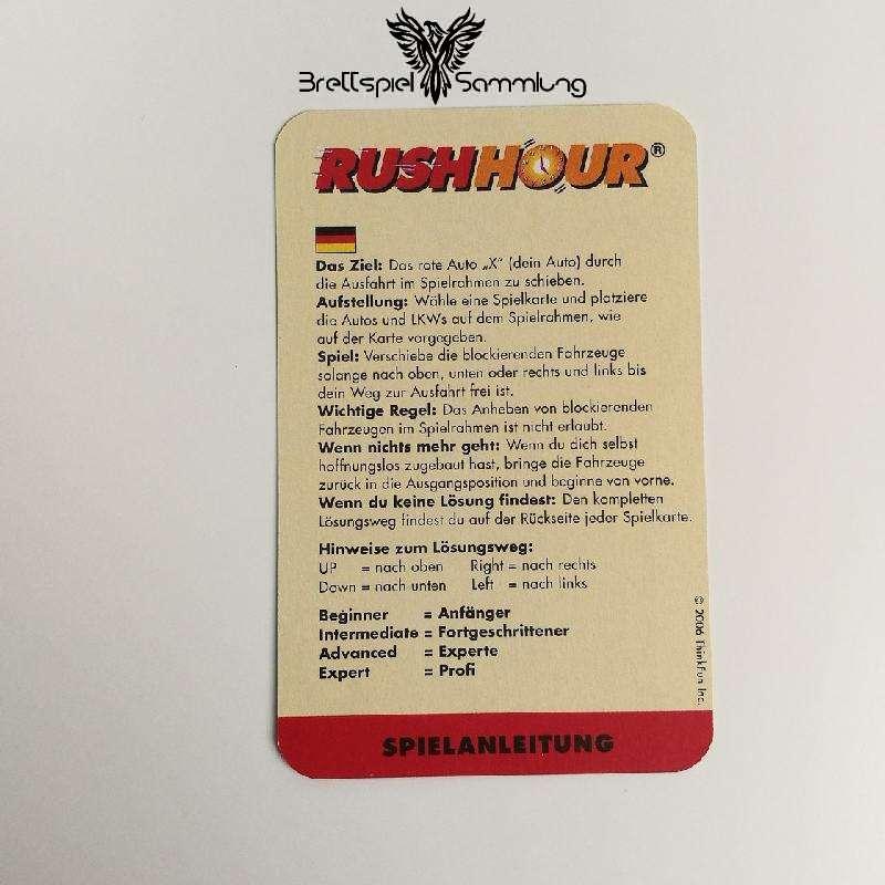 Rushhour Spielanleitung De