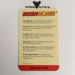 Rushhour Spielanleitung En