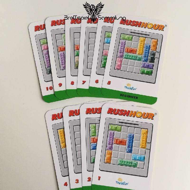Rushhour Spielkarten Paket Beginner / Anfänger