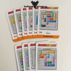 Rushhour Spielkarten Paket Intermediate / Fortgeschrittener