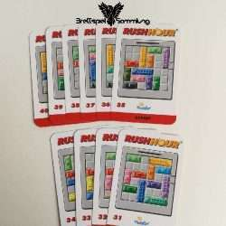 Rushhour Spielkarten Paket Expert / Profi