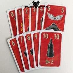 Magalon Magiekarten Pack Rot