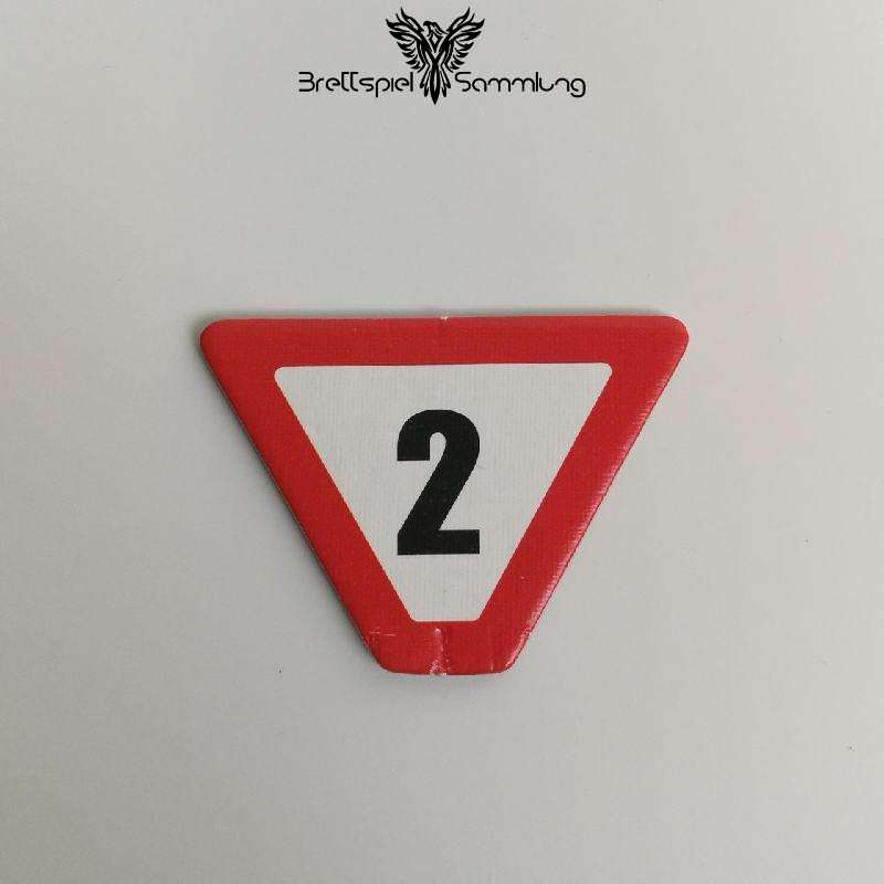 Cars World Grand Prix Straßenschild 2