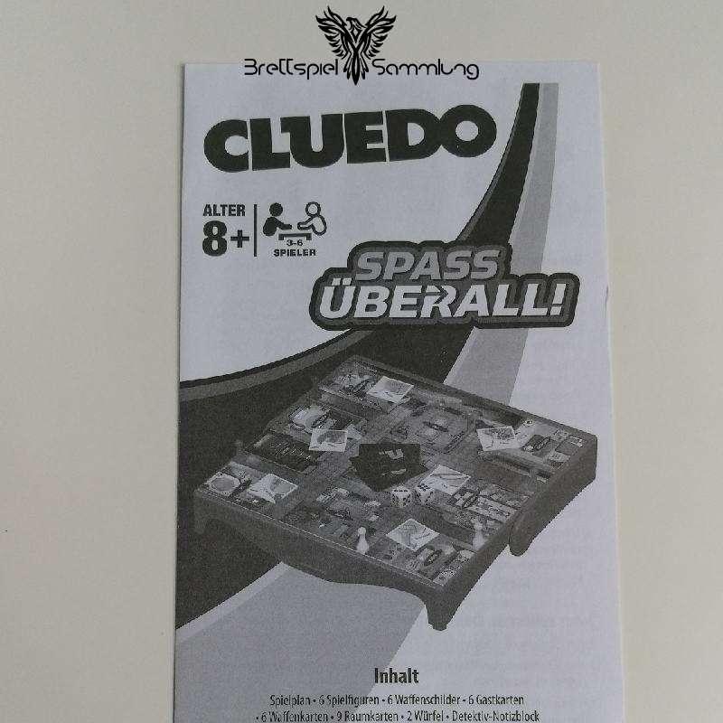 Spielanleitung Cluedo