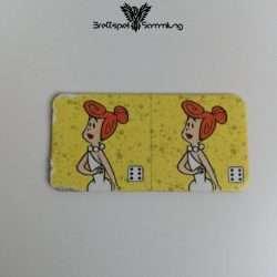 Familie Feuerstein Domino Dominokarte #28