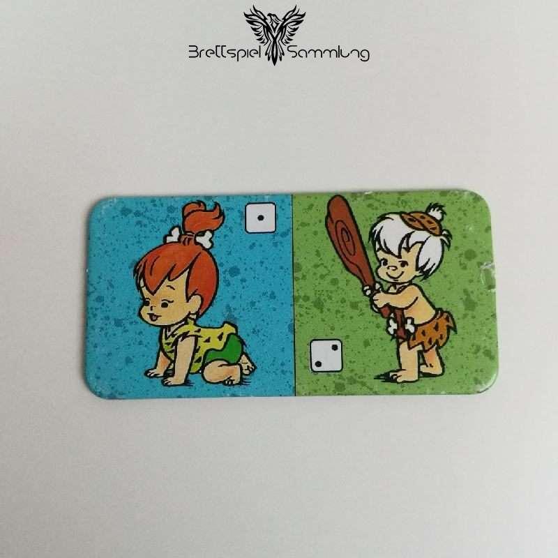 Familie Feuerstein Domino Dominokarte #18