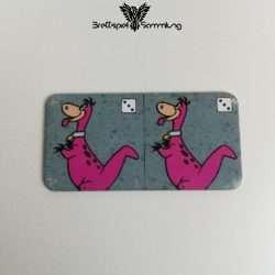 Familie Feuerstein Domino Dominokarte #17