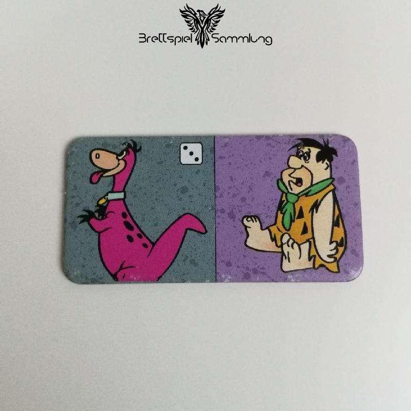 Familie Feuerstein Domino Dominokarte #14