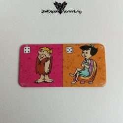 Familie Feuerstein Domino Dominokarte #11