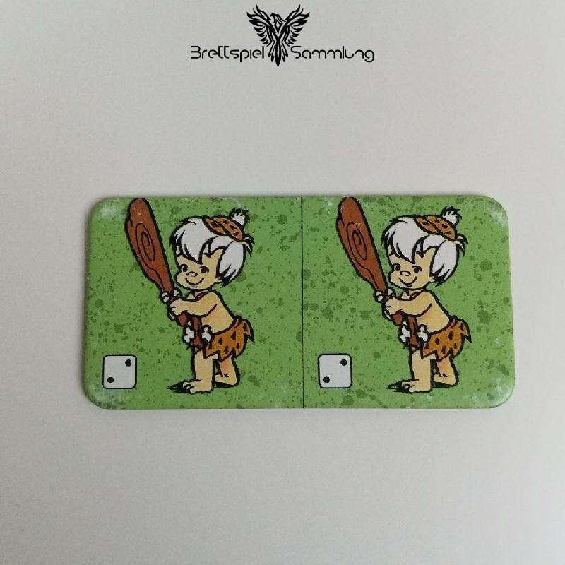 Familie Feuerstein Domino Dominokarte #9